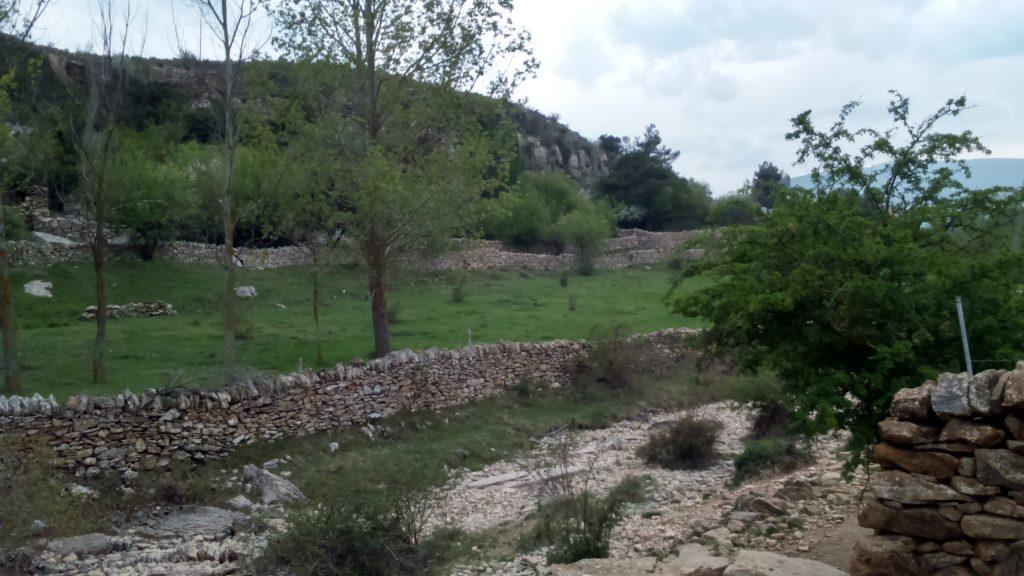 Ruta de senderismo en Rambla de les Truites